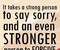 Im sorry quotes pictures photos images and pics for facebook it takes a strong person to say i m sorry thecheapjerseys Choice Image