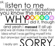 Sorry Quotes For Friends Pictures, Photos, Images, and Pics for