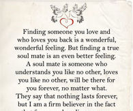 soul mates love