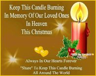 In Memory Of Loved Ones On Christmas Quote