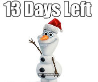 13 days left until christmas