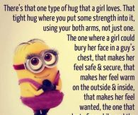 Superior One Type Of Hug That A Girl Loves