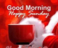christmas good morning happy sunday quote - Christmas Sunday