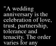 221612 Quote About Wedding Anniversaries anniversary quotes for friends pictures, photos, images, and pics
