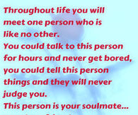 Whats a soulmate quote