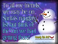Naughty Christmas Quotes Pictures, Photos, Images, and Pics for ...