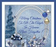 Merry Christmas To All The Angels In Heaven