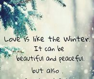 Quotes About Winter Love Tumblr : Winter Love Quotes Tumblr winter quotes pictures, photos, images, and ...