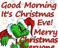 good morning its christmas eve quote - Merry Christmas Eve Quotes
