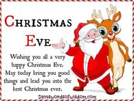 Happy Christmas Eve Pictures, Photos, Images, and Pics for Facebook ...