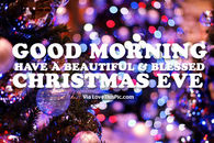 christmas eve morning quotes
