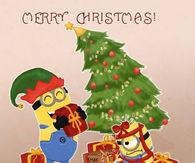 dreamer - Minions Merry Christmas