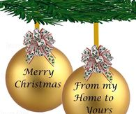 merry christmas from my home to yours - Merry Christmas To My Family