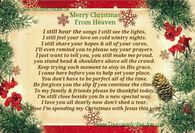 graphic about Christmas in Heaven Poem Printable referred to as Xmas Within Heaven Rates Photos, Shots, Illustrations or photos, and