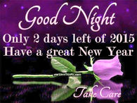 Image of: Inspirational Good Night Only Days Left Until The New Year Lovethispic New Year Goodnight Quotes Pictures Photos Images And Pics For