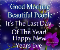 Image result for good morning new years eve quotes