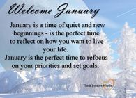 Welcome January Pictures Photos Images And Pics For