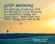 Good Morning Happy New Year To All
