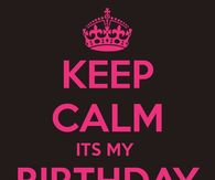 Keep calm pictures photos images and pics for facebook - Its my birthday month images ...