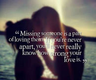 On missing a lover quotes 80 Best