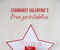 photograph relating to Starburst Valentine Printable called Valentines Working day Printable Photos, Shots, Pictures, and Images