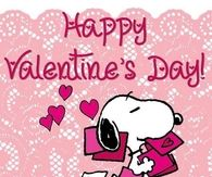 Happy Valentines Day Snoopy Quote