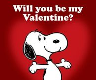 Snoopy Will You Be My Valentines