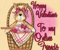 Happy Valentines To my Online Friends