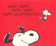Snoopy Happy Happy Valentines Day