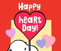 Snoopy Happy Heart Day Quote