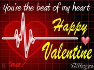 You Are The Beat Of My Heart Happy Valentines Day