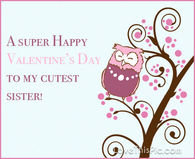 valentines day quotes for sister pictures photos images and pics