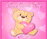 happy valentines day daughter pictures photos images and pics for