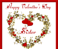 Valentines day quotes for sister pictures photos images and pics happy valentines day sister m4hsunfo
