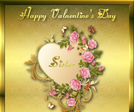 Happy Valentine's Day Sister Quote