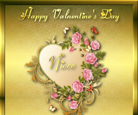 Happy Valentine's Day Niece