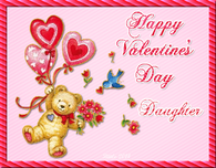 Happy Valentine's Day Daughter Quote