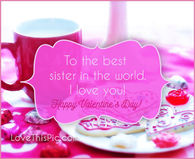 Y Valentine Quotes | Valentines Day Quotes For Sister Pictures Photos Images And Pics