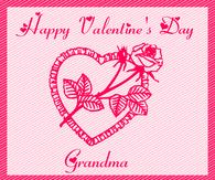 Happy Valentine's Day Grandma