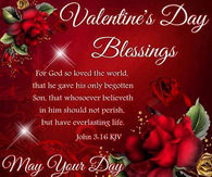 Großartig Religious Valentineu0027s Day Blessings Quote