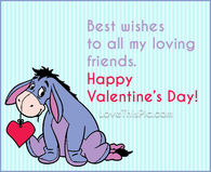 To My Loving Friends Happy Valentines Day