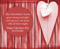 Happy Valentine's Day Quote For Friends