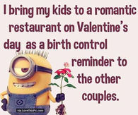 Valentines Day Minion Quotes Pictures Photos Images And Pics For
