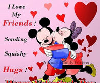 Disney Valentineu0027s Day Quote For Friends