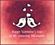 Amazing husband Valentine's Day quote