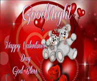Goodnight Happy Valentine's Day