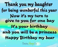 Happy Birthday Quotes For Daughters Pictures Photos Images And