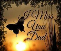 Miss u papa dp