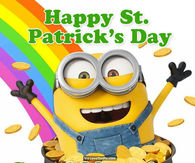 Image result for st patricks day minions