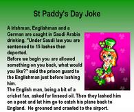 St Paddy's Day Joke